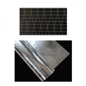 非织造无纬稀松布织物网片,用于挠性管道包装