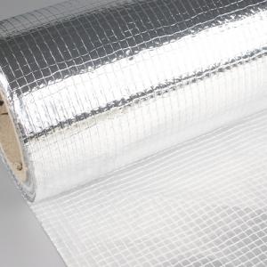 Maille de fabrication de canevas d'isolation de papier d'aluminium de Scrim laminé de toile à voile de tissu non tissé