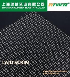 Aluminium Foil Reinforced Material Fiberglass Laid Scrim Mesh Netting