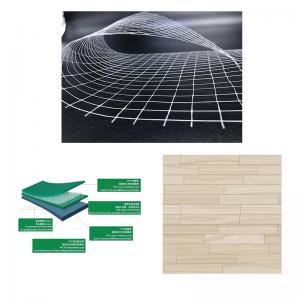 Gelegte Scrim Mesh Composite für PVC-Boden