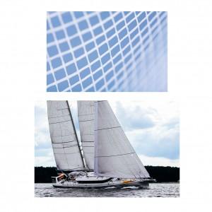 Takviye çözümleri için yelkenler için lamine edilmiş dokunmamış kumaş bezler