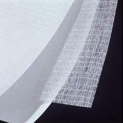 Laid scrim with tissue