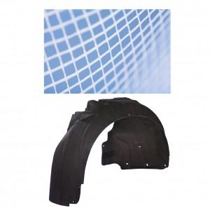 prévues non-tissés pour les mousselines doublures de passage de roue automobile externes